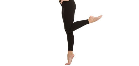 Capezio Low Rise Ankle Legging