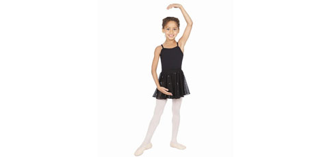 Capezio Pull-On Sequined Skirt